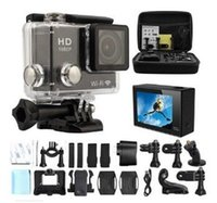Wholesale SJ4000 Inch Ultra HD Screen P Helmet Sports DVR DV DV Action Waterproof M Camera