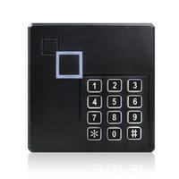 controle de acesso do teclado venda por atacado-Proteção à prova de intempéries do sistema do leitor do teclado RFID do controle de acesso de 26 de Wiegand 26bit