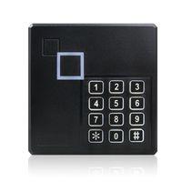 система управления rfid оптовых-Всепогодный Wiegand 26 26-битная клавиатура контроля доступа RFID-считыватель Безопасность системы