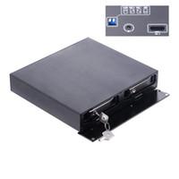 4 tb hdd toptan satış-Uneatop 2.5inç çift bölmeli USB 3.1 Gen 2 Tip-C'den SATA USB3.1 adaptörüne 10Gbps sabit disk Macbook için 4TB SSD Harici HDD Muhafazası
