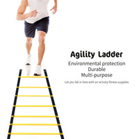 Wholesale fitness items - OBCANOE 13-feet Agility Ladder Speed Training Ladder Flat Plastic Rungs for Speed Agility Fitness Leg Strength (Yellow)