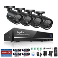Wholesale Hdmi Security Dvr - SANNCE 8CH 1080N 4in1 HDMI DVR HD 1800TVL Outdoor IR P2P Security Camera System