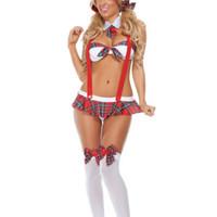 uniformes de enfermería al por mayor-2017 traje sexy cosplay dama uniformes sexy ropa erótica enfermeras sexo ropa interior cuerpo traje porno lencería erótica conjuntos de ropa