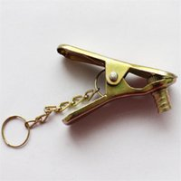 Wholesale gas bicycles wholesale - Valve Metal Clamp Pump Gas Nozzle Valve Clip Bicycle Tool Holder Duckbill Beautiful Mouth Cylinder 0 6qx ii