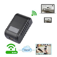 Wholesale adapter camera dvr motion for sale - 1080P Super Camera WiFi Nanny Socket Cameras Power Adapter DVR With Night Vision Motion Detector Security Surveillance Camcorder