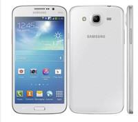 cep telefonu kamera wifi gsm toptan satış-Yenilenmiş Orijinal Samsung Galaxy Mega 5.8 I9152 / I9158 Çift Sim / Tek Sim 3G Cep Telefonu 5.8 Inç Çift Çekirdekli Android4.2 1G RAM 8G ROM