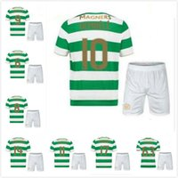 Wholesale Celtic Kits - TOP Quality 2017 2018 Celtic FC Home kits Soccer Jersey 17 18 Celtic Griffiths dembele Sinclair Rogic McGregor Roberts Forrest Jerseys kits