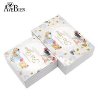 cadeaux de chocolat de mariage pour les invités achat en gros de-AVEBIEN Design De Mode Boîte-Cadeau De Fête D'anniversaire Boîte De Gâteau Chocolat Paquets De Faveurs De Mariage et Cadeaux pour Invité 20pc