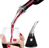 аэрирующий флакон для бутылок оптовых-одноразовые акриловые аэрирование вино Pourer графин бутылка красного вина аэратор Pourer вино аэратор Декантер аксессуары