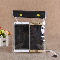 Wholesale waterproof cell phone bag pouch for sale - Group buy Waterproof Water Proof Bag Pouch Large Size Support Phone For Diving Drifting Protection Water Proof Cases Cell Phone Cover DHL
