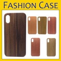 Wholesale bamboo iphone case online - Real Wood Case Nature Carved Wooden Bamboo Wood PC Case For iPhone X Xr Xs Max S Plus Samsung S9 S8 Plus Note S7 Edge