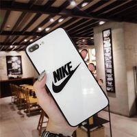 almofada do telefone do iphone venda por atacado-Designer de moda de luxo caso de telefone shell para iphone xs max xr 7 8 plus 6 6 s vidro temperado telefone de volta caso