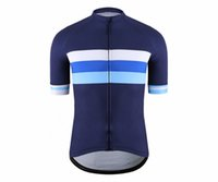 Wholesale bicycle jersey design - SPEXCEL Classic Mesh Breathable Pro Short Sleeve Cycling Jerseys High Quality Bicycle Shirt Blue Stripe Design Bicycle Equipment