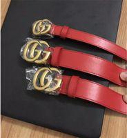 Wholesale belt for male resale online - 2019 now Designer High quality cowskin belt double buckle real leather luxury male designer belt for men women size wide cm