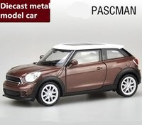 Wholesale Free Mini Cooper - Brand New free shipping 1:36 scale alloy pull back car,high simulation MINI Cooper model diecast metal model toy,2 open doors