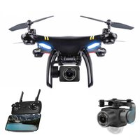 Wholesale wifi camera toy resale online - Global Drone GPS Quadcopter Wifi Drone G wifi p HD Camera Video Helicopter Drone M M high RC plane Helicopter Toys