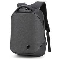 laptop de 15,6 polegadas venda por atacado-Nova Multifuncional Anti Roubo 15.6 polegada Laptop Homens Saco Mochila Escolar USB de Carregamento Ocasional Mochilas de Viagem Mochila Masculina de Viagem