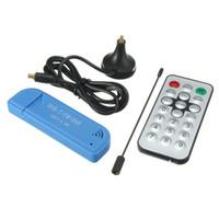 Wholesale usb dvb t tv tuner - USB 2.0 Digital DVB-T SDR+DAB+FM HDTV TV Tuner Receiver Stick Sticks Receivers RTL2832U+R820T2 T2