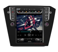 """Wholesale android car gps vw - 10.4"""" tesla style vertical screen android 6.0 Quad core 32G Car GPS radio Navigation for VW Passat 2015-2016"""