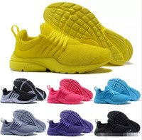 2018 Presto Running Shoes Men fly BR QS Yellow Prestos Pink Oreo Outdoor Jogging  air sole Mens Womens Trainers Sports Sneakers Size 36-45 da05f6a9d