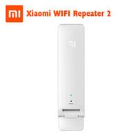 repetidor para wifi venda por atacado-Xiaomi wi-fi localizadores wi-fi amplificador 2 sem fio wi-fi repetidor 2 rede router extender antena wi-fi repitidor frete grátis