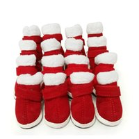 Wholesale extra small dog boots for sale - 5 Size warm dog shoes for walk  sports 2b9e83c32160