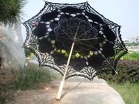 paraguas vintage al por mayor-2017 Sun Umbrella Lace Royal Princess lacwe Technology Paraguas Paraguas de la boda Vintage parasoles 3pcs
