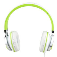 Wholesale high bass mp3 player for sale - Headphones with mic high quality Stereo Headsets Strong Bass Headphones Mp3 player Laptop Computers Tablet Folding Earphones mm Jack