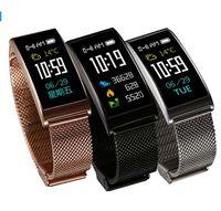 Wholesale tft remote control - X3 Smart Bracelet Wristbands 0.96 Inch TFT IPS Color Bracelet Support Waterproof IP68 Heart Rate Smart Bracelet Pedometer Fitness Tracker