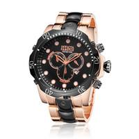 reloj deportivo dz al por mayor-Nuevo reloj de cuarzo suizo INVICTA Angel Elite Pro Driver Pave Reloj de pulsera Lupah Hombres Deporte Relojes DZ
