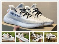 Wholesale custom gyms - 2018 Newest SPLY-350 V2 Kanye West 350 Men Women Running Shoes Sports Custom Cream White 350 Boosts Designer Tennis Shoes Sneaker 36-46