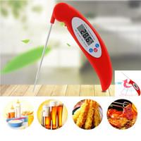 dijital anlık okuma termometreleri toptan satış-Dijital Gıda Pişirme Termometre Anında Oku Et Termometre Mutfak BARBEKÜ Izgara Için Içen Ev Mutfak Araçları WX9-665