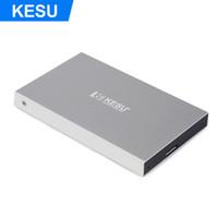 dizüstü bilgisayar sabit disk masaüstü toptan satış-KESU 2.5 inç Taşınabilir Harici Sabit Disk HDD Harici HD Sabit Disk PC Mac Masaüstü Laptop için USB 3.0 Yüksek Hızlı Yazma ve Oku