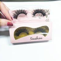 Wholesale gorgeous eyelashes resale online - Gorgeous D false eyelash Seashine natural looking really Mink lovely lashes Soft Lashes exquisite lash for beautiful ladies