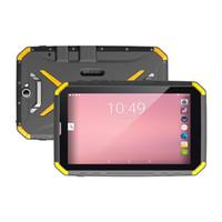 tablette capteur caméra g achat en gros de-Hugerock T80 IP68 Etanche 8 Pouces Tablette Android Rugged 3G RAM RAM 32GB 8500mAh Batterie Carte SIM unique Phablet
