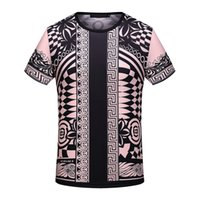 Wholesale Quick Comfort - Hot Sales Trendy Summer T-Shirts Men O-Neck Pullover Short Sleeve Print Fashion Casual Clothing Breathable Comfort Tees