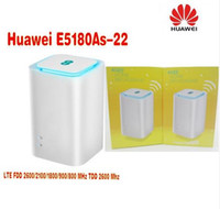 roteadores sem fio desbloqueados venda por atacado-Desbloqueado Huawei E5180 E5180as-22 4G LTE cubo WiFi Hotspot casa roteador sem fio