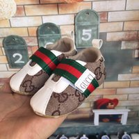 Wholesale soft soled shoes for toddlers online - 2018 New Canvas sport baby shoes Newborn Boys Girls First Walkers Infantil Toddler Soft sole Prewalker Sneakers for M