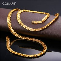 schlange halskette silber männer großhandel-Collare Schlange Gliederkette für Männer Gold / Schwarz / Rose Gold / Silber Farbe afrikanische Kette Halskette Großhandel Männer Schmuck N215