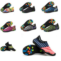Wholesale Shoes For Swimming - Mens shoes Quick Dry Beach Socks Shoes Barefoot Beach Surf Pool Swim Yoga Aerobics for women and men