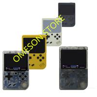 consoles lcd venda por atacado-Coolbaby Atualizar RS-6A Pode Armazenar 168 jogos Retro Portátil Mini Handheld Consola de jogos 8-Bit 3.0 Polegadas LCD Color Game Player Para FC jogo