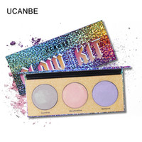 Wholesale sugar brand cosmetics for sale - UCANBE Brand Chameleon Crystal Sugar Eyeshadow Makeup Palee Highlighter Bronzer Glow Shimmer Color Eye Shadow Cosmetic Kit