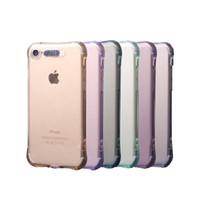 iphone5 telefon fälle großhandel-Die leuchtende Fall-Telefon-Kasten für iPhone 8 plus Handy-Fälle rückseitige Abdeckung für iPhone5 6 7 X