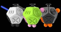 gebrauchte spielwaren großhandel-3D Würfel Spielzeug Zweite Generation Hand Spinner zwei Neue Neuheit Version Dekompression Angst Spielzeug vs Handspinner Finger Hand Spinner WJ 002