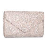 Wholesale white bridal clutches resale online - Women Evening Envelope Rhinestone Frosted Handbag Party Bridal Clutch Purse
