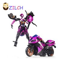 Wholesale al plastic - Motorcycle Model Doll Al West Carroll Robot Car Action toys Anime Plastic Toys Action Doll Boys Gift For Boy