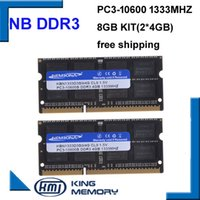 Wholesale ram for laptop 8gb - 3 KEMBONA laptop ddr3 mhz GB Kit of X4GB PC3 s V So DIMM Pins Memory Module Ram Memoria for