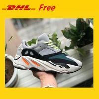 zapatos de baloncesto botas para correr al por mayor-DHL GRATIS !!! Kanye West Wave Runner 700 Botas Zapatillas de baloncesto para mujer Zapatillas deportivas deportivas Running Zapatillas de deporte EUR 36-45 con caja