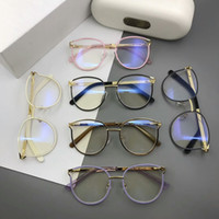 Wholesale luxury spectacle frames for sale - Group buy eyeglasses frame Luxury glasses CE2126 Spectacle Frame eyeglasses for Men Women Myopia Brand Designer Glasses frame clear lens With case