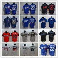 Wholesale women s fashion baseball jerseys for sale - Group buy Men Women Youth LA Dodgers Baseball Jersey Clayton Kershaw Home Blue Gery White flag fashion Baseball Jerseys